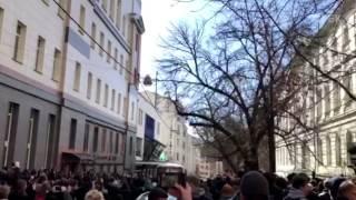 В Москве проходит антикоррупционная протестная акция