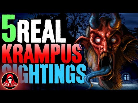 5 Real Life Sightings of Krampus