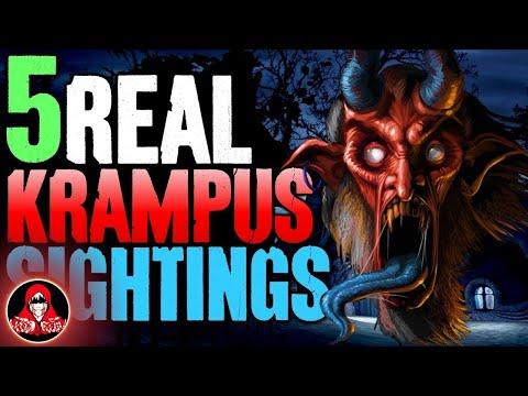 5 Real Life Sightings of Krampus