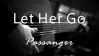 Let Her Go - Passanger ( Acoustic Karaoke )