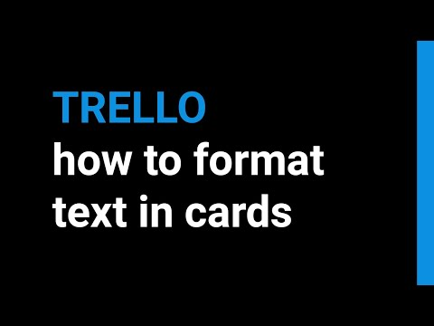 How To Format Your Text in Trello - Using Markdown Syntax and AHK (en-sub)