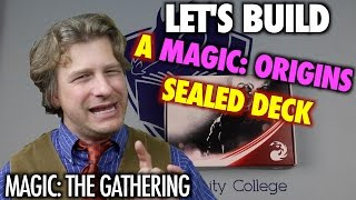 Mtg - Let's Build A Magic Origins Sealed Deck For Magic: The Gathering Prerelease!