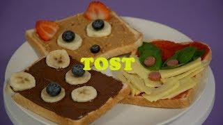 Sut i wneud tost ciwt | Potsh | Stwnsh