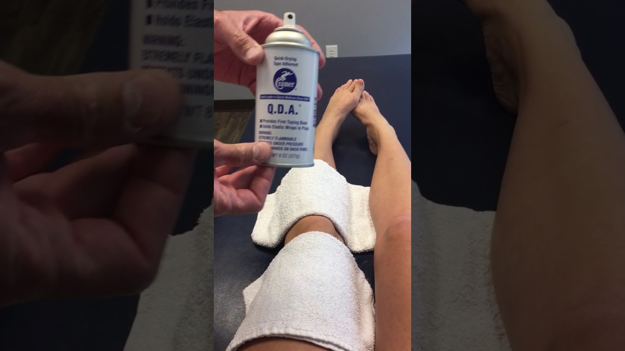 Mcconnell Taping Technique Youtube