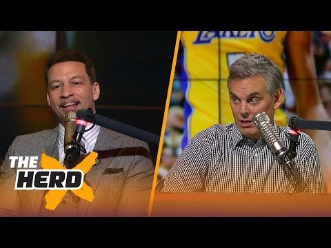 Chris Broussard on Ben Simmons and Lonzo Ball - Who will be the better player? | THE HERD