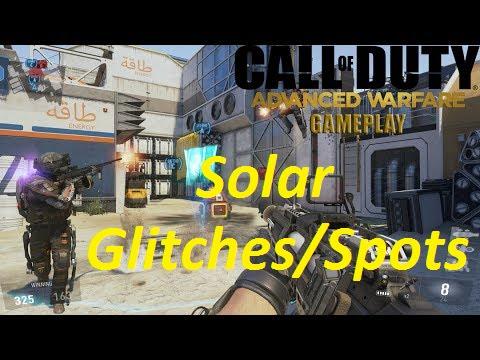 Call Of Duty: Advanced Warfare Solar All Glitches/Spots