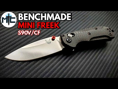 Benchmade 565-1 Mini Freek S90V/CF Folding Knife – Overview and Review