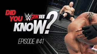 WWE 2K18 Did You Know? New OMG Reversal, WM34 DLC Arena, Double Title Victories & More! (Episode 41)