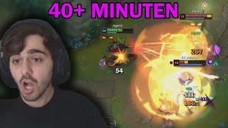 40+ Minuten Game geht in die Nerven