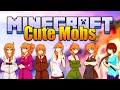 Minecraft CUTE MOBS Mod! Anime Girl Mobs! (。◕‿◕。) (Minecraft v1.8 Mod Spotlight)