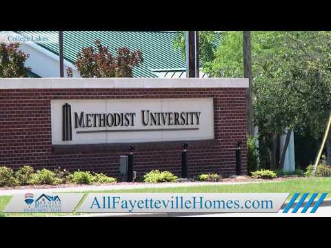Video Tour of College Lakes in Fayetteville, NC.