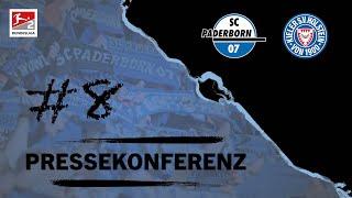 Pressekonferenz vor dem Spiel gegen Holstein Kiel