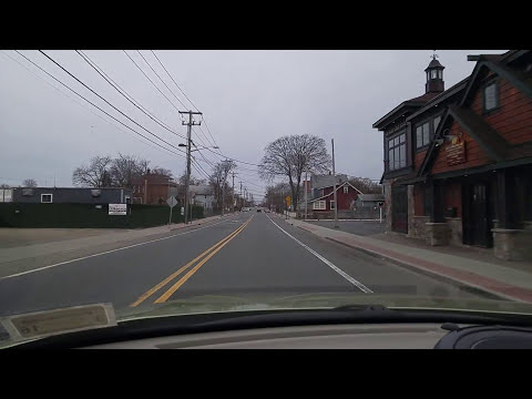 Driving By Huntington Station In Suffolk,New York