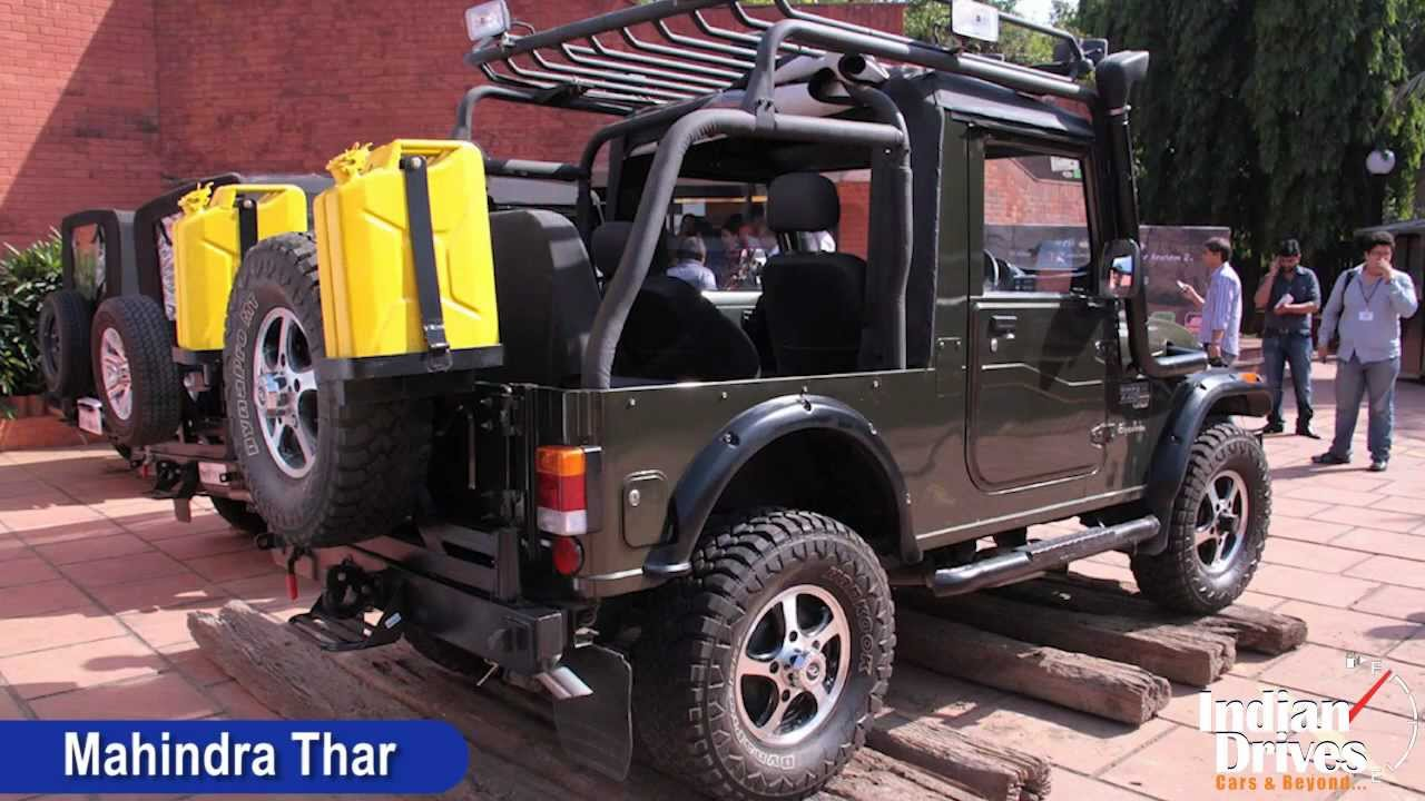 Mahindra Thar With Ac Launched In India Walkaround Video