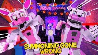 Minecraft Fnaf: Summoning Gone Wrong (Minecraft Roleplay)