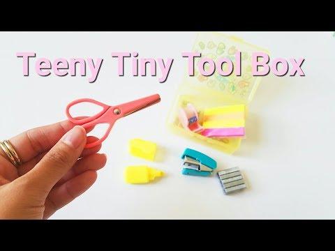 This Teeny Tiny Stationery Tool Box