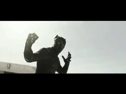 SZA & Kendrick Lamar  All The Stars Clean Edit; Black Panther Scenes Civil War
