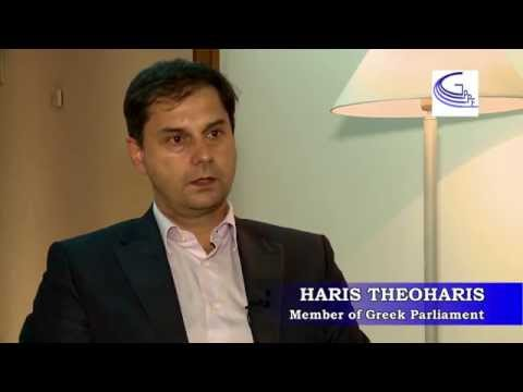 Interview with Mr. Haris Theoharis (To POTAMI) at the 4th GPPF Chania Forum 2015