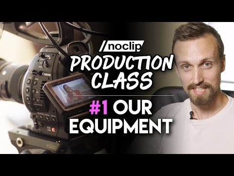 What Camera Equipment Do We Use? - Noclip Production Class #1