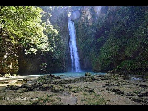 Mantayupan Falls In Barili Tourist Spots In Cebu Philippines Youtube