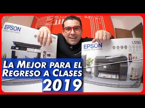 Epson EcoTank Review: Una de las mejores impresoras para el Back to School [ 2019 ]