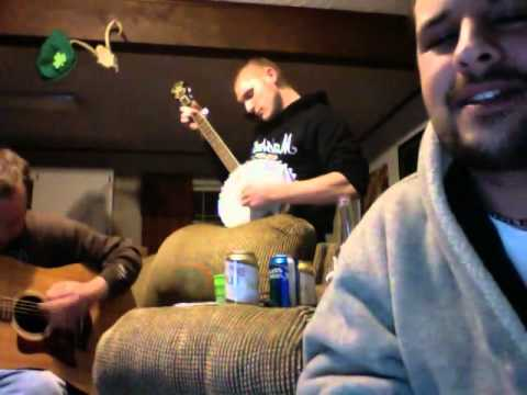 Afro Man Colt 45, bluegrass remix Wagon wheel