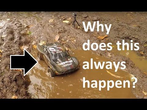 Traxxas Slash 4x4 Abuse in the Mud!