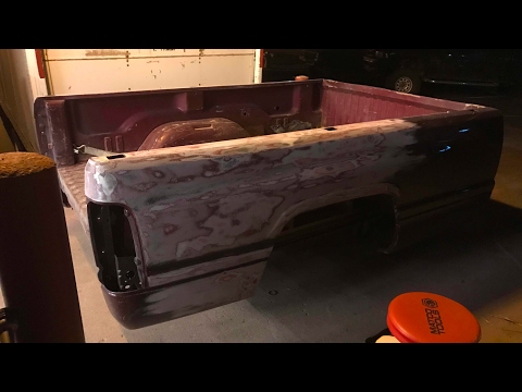 STRIPPING PAINT OFF MY DODGE RAM BED