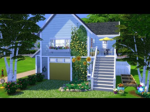 THE SIMS 4: SPEED BUILD // CUTE COLORFUL HOME  // NO CC thumbnail