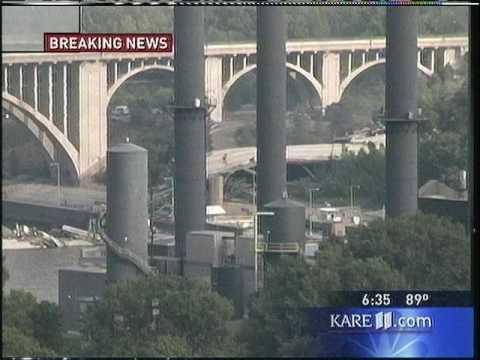 (www.RadioTapes.com) KARE-TV 35W Bridge Collapse 8/1/2007 6:30-8:30 PM