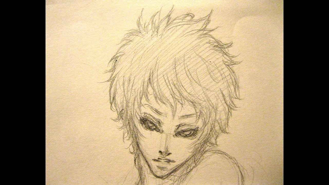 How To Draw Anime Manga Boy Male Character Hair