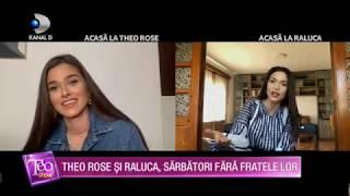 Teo Show (22.04.) - PROVOCARE INEDITA | Theo Rose si Raluca canta cuvintele date de Teo si Bursucu!