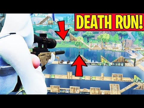 IMPOSSIBLE SNIPER DEATH RUN!! (*NEW* GAME MODE IN