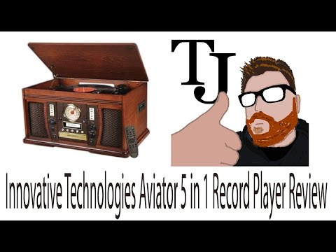 Best All In One Record Player? Inovative Tech 5 in 1 Review
