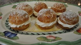Eclairs and Cream Puffs - RECIPE Thumbnail