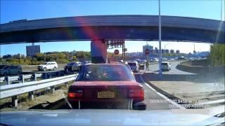 Hit and run in Manhattan caught on my dashcam
