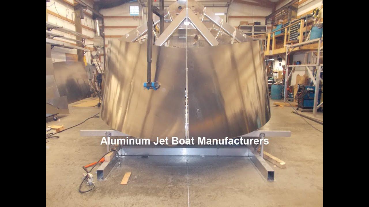 Aluminum Jet Boat Manufacturers