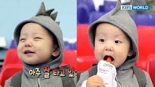 Superman's new family, Jane and speed-skater Ahn HyunSoo! [The Return of Superman / 2017.10.22]
