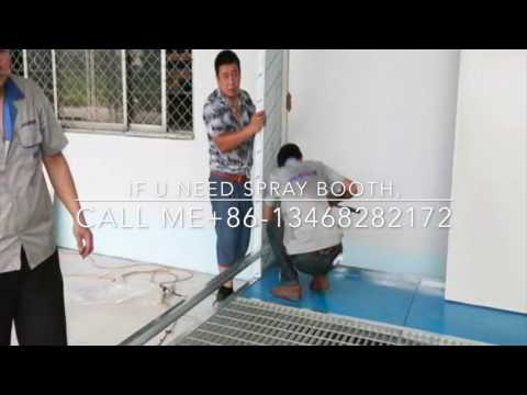 Installing Spray Booths,  China Spray Paint Booths ,Paint Spray Booth