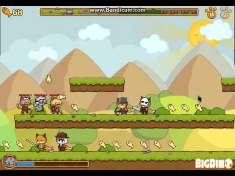 Игра Ударная сила котят играть онлайн