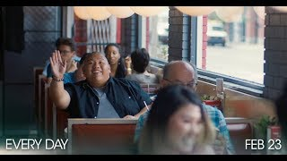 "EVERY DAY Clip #2: ""Diner Scene"" (2018)"