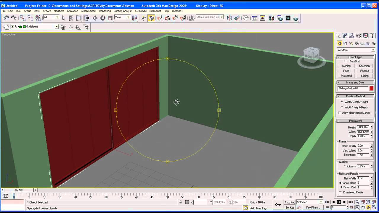 Architectural tutorial on 3ds max part 1 room youtube for Room design 3ds max