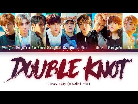 Stray Kids Double Knot Lyrics (스트레이 키즈 Double Knot 가사) [color Coded Lyrics/han/rom/eng]