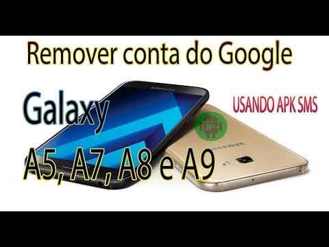 Como remover conta do Google Galaxy A5 , A7, A8, E A9 Android 8.0 7.0, 6.1.1 #SEMPC