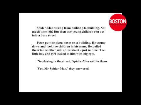 Learn English through stories | Spider man 2 | English listening practice