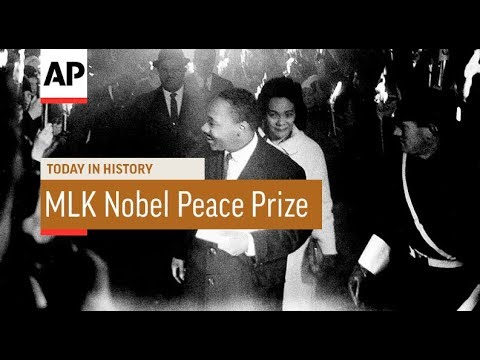MLK Nobel Peace Prize - 1964 | Today In History | 10 Dec 17
