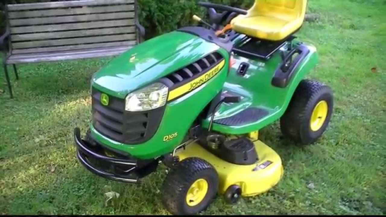 John Deere D105 Automatic Lawn Tractor 6 Month Review Doovi