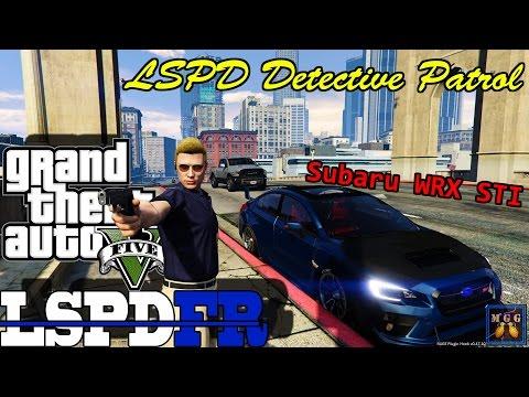 Undercover Detective Patrol in a Subaru WRX STI GTA 5 LSPDFR Episode 94