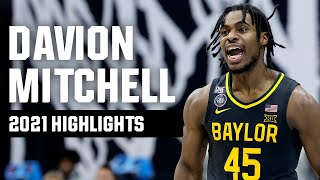 Davion Mitchell 2021 NCAA tournament highlights