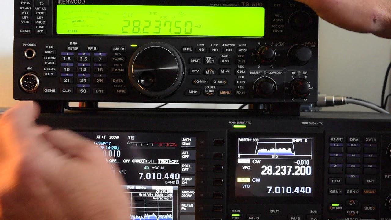 Kenwood TS-590SG vs TS-990S